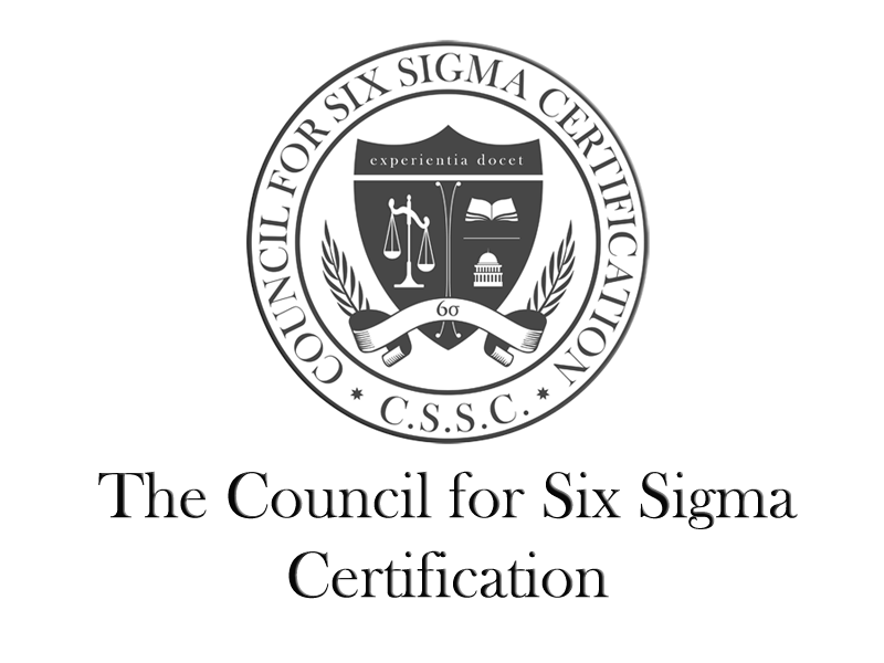 The Council For Six Sigma Certification The Council For Six Sigma