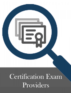 Certification Exam Providers