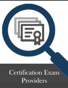 Certification Exam Providers